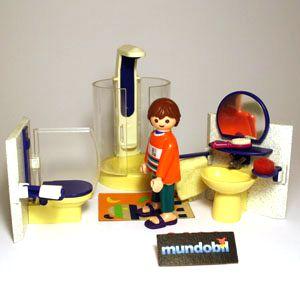 Salle de bains mundobil for Salle bain playmobil