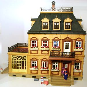 Maison 1900 mundobil for Cuisine playmobil